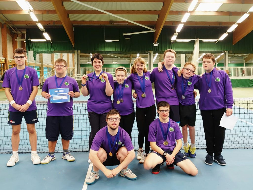 YDTN competitors in the Leeds Regional Learning Disability Tournament