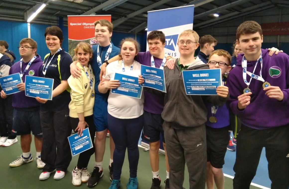 York Disability Tennis Network Learning Disability Nationals 2019 competitors